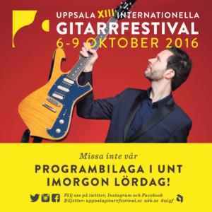 Uppsala Internationella Gitarrfestival 2016